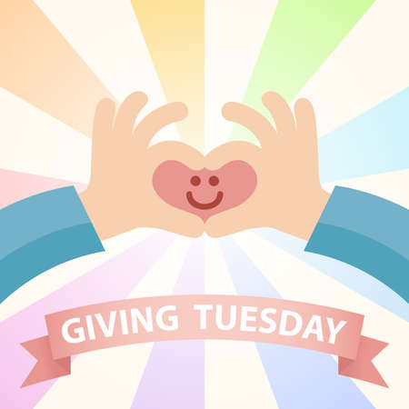 Charity and donation giving Tuesday
