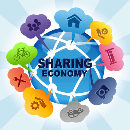 Sharing Economy Collaborative Global Share