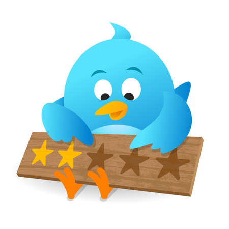 Blue Bird Customer Review Product Rating Announcement Notice Board For Apps and Website