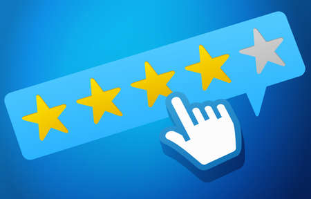 User Customer Review Product Rating Feedback Concept Stock Photo