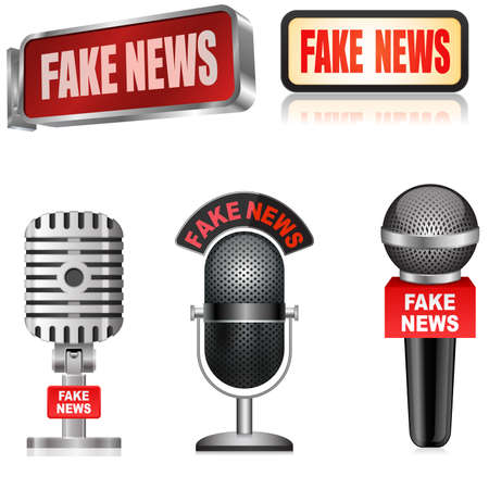 Fake News Report Microphone