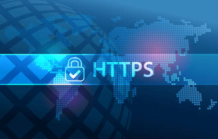 HTTPS Secure Data Transfer Protocol on Web