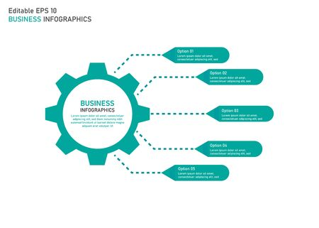 business infographic templates. editable vector infographic templates