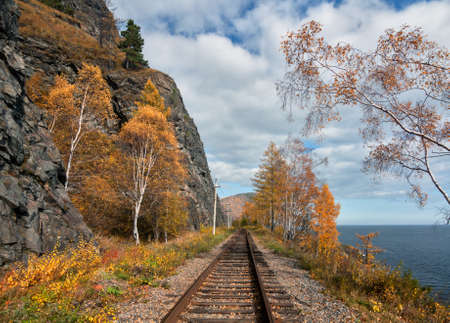 Autumn on the Circum-Baikal Road photo
