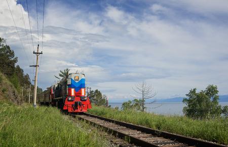 The train on Circum-Baikal Sajtókép