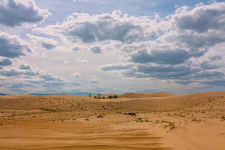 Chara Sands in Eastern Siberia in Transbaikalia