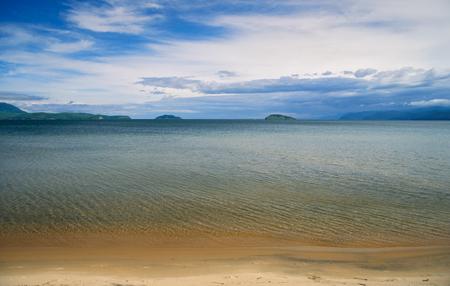 Chivyrkuisky gulf of Lake Baikal