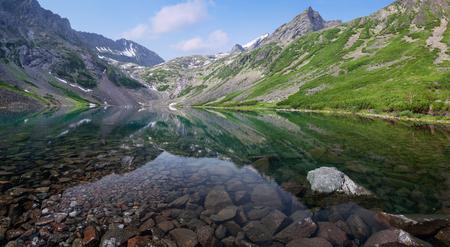 Lake Guitar in the mountains Baikal ridge