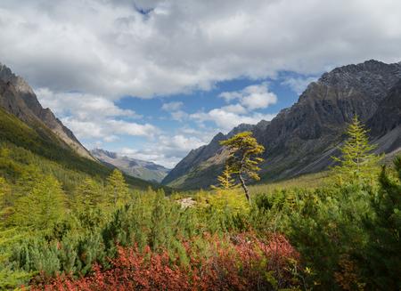 Autumn in the mountains Kodar ridge