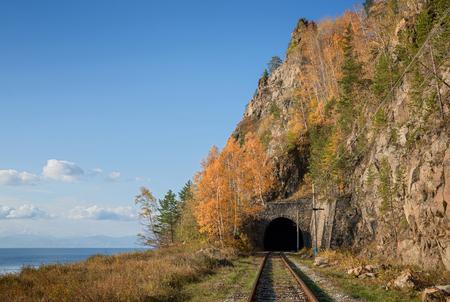 Autumn on Circum-Baikal Railway