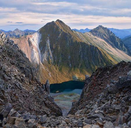 The Mountain pass in the Eastern Sayan, Eastern Siberia