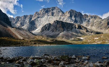 Mountains range Kodar in Eastern Siberia , Transbaikalia Imagens