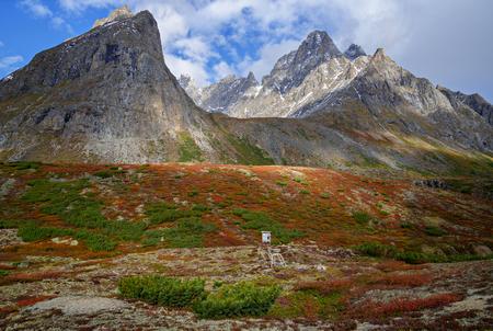 Mountain range  Royal Throne  on Kodar Ridge