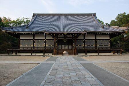 ninnaji: Main hall of the ninna-ji temple in Kyoto, Japan