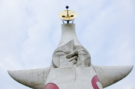 Tower of the Sun (太陽�塔 Taiy� no T�?) at the world Expo Commemoration Park in Suita, Osaka, Japan