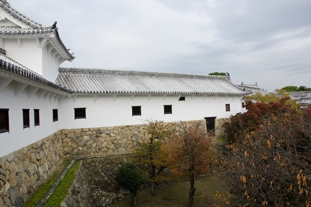 outbuilding: Outbuilding of Himeji castle where the princesses used to live