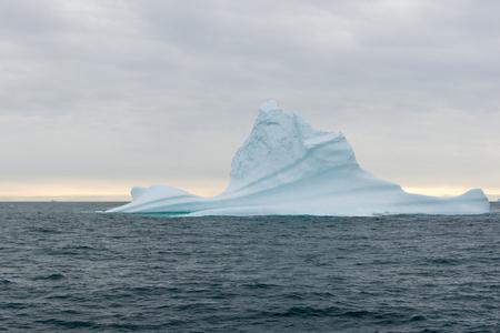arctic waters: Beautiful iceberg in arctic waters around Disko Island in Greenland