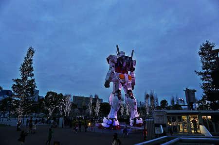 Gundam robot at Tokyo Odaiba