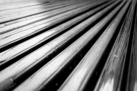 Real urban textures - a  row of scratched metal pipes Banco de Imagens