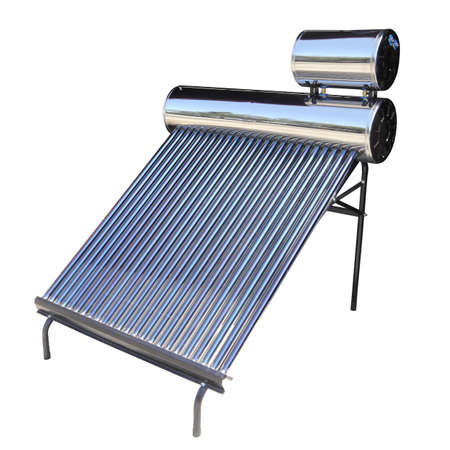 Solar water heater with tube collectors