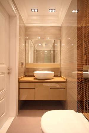 salle de bains: Petit toilettes