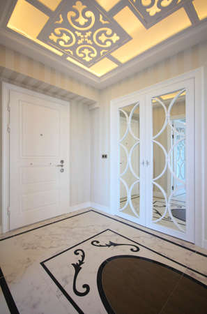 Enterance of luxury home  vertical