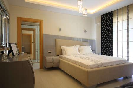 Stylish Bedroom Stock fotó