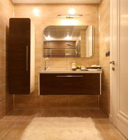 浴室の家具 写真素材