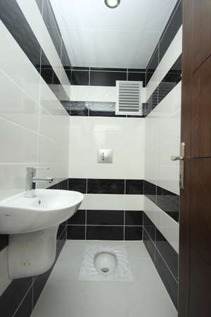 Turkish style toilet photo