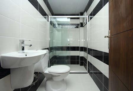 cabine de douche: Salle de bain à la maison