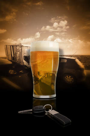 drink and drive: Dont Drink Drive Stock Photo