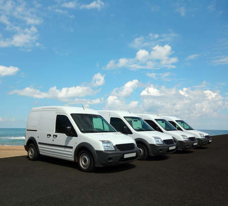 Mini van fleet photo