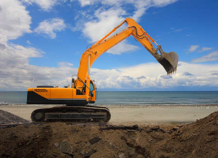 Digging Excavator