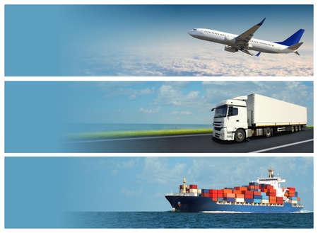 Logistique Bannière