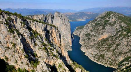 Sahinkaya Canyon near Samsun, Turkey