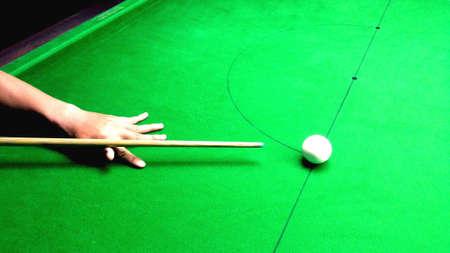 backgroud: Snooker