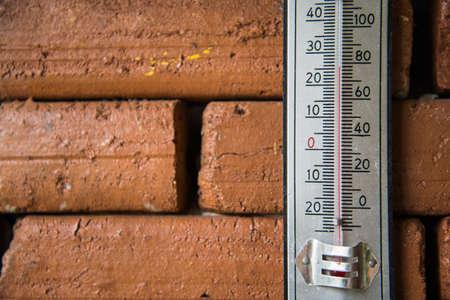 wheather: Temperature Stock Photo