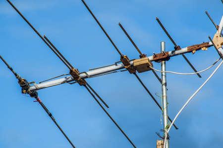 rf: Television antenna Stock Photo