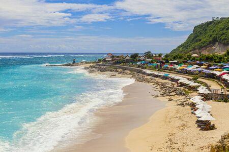Amazing touristic beach