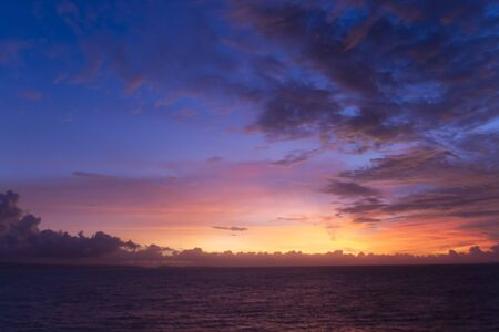 Colorful sunset Imagens