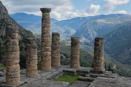 oracle: Temple of Apollo at Delphi oracle