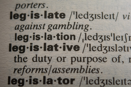 legislative: Definition of the word legislative, close up