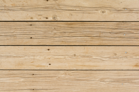 wall pattern of wooden boards with screws Standard-Bild