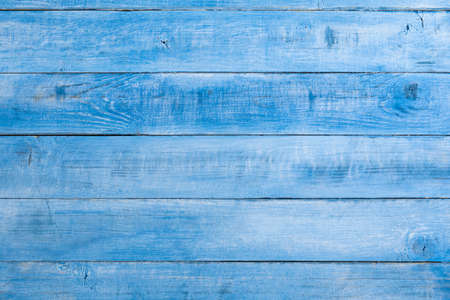 Blue whitewashed old wooden background
