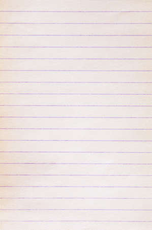 Blank old lined paper background texture