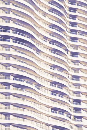 textura: edificio onda