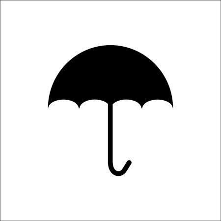 brolly: Umbrella icon vector.