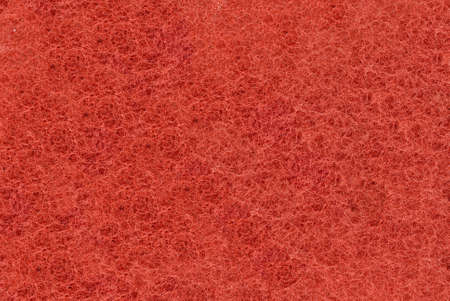 filamentous: Close-up of Red synthetic fibrous surface useful as background