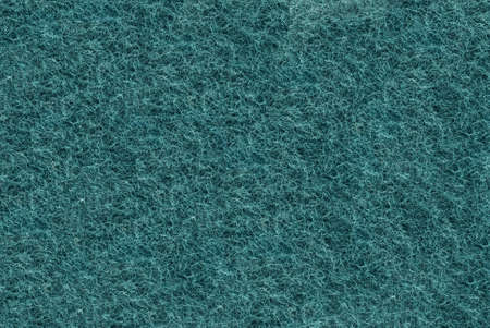 fibrous: Close-up of Teal synthetic fibrous surface useful as background