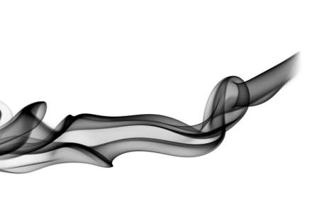 Fume Abstract pattern over the white background Stock Photo - 6571464